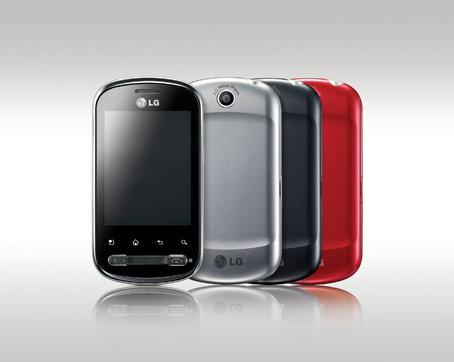 LG Optimus Me olika färger