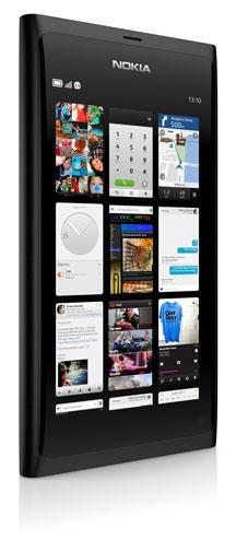 Nokia N9:s gränssnitt