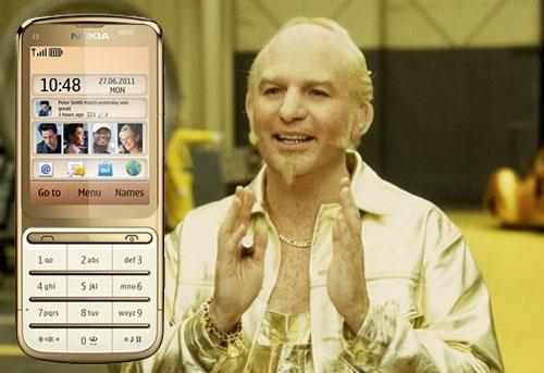 Målgruppen för Nokia C3-01 Gold edition?