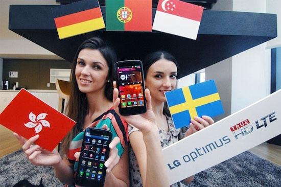 LG Optimus HD LTE presenteras bland annat för Sverige