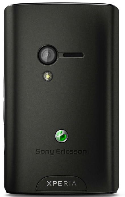 Xperia X10 Mini Pro baksida