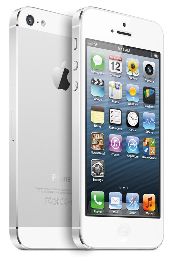 Vit iPhone 5