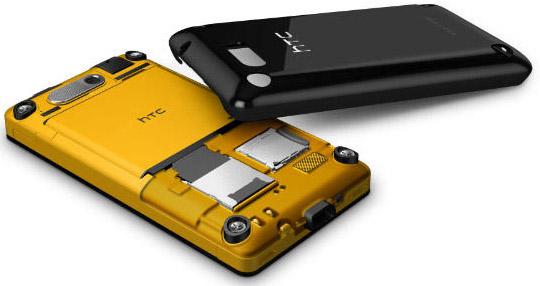 HTC Gratia, snygg även inuti