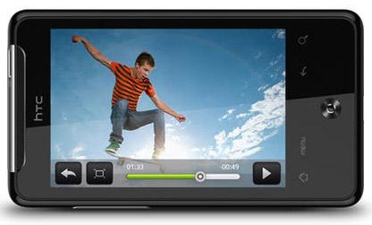 Video i HTC Gratia