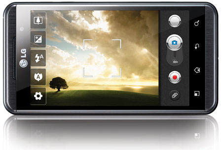 LG Optimus 3D kamera