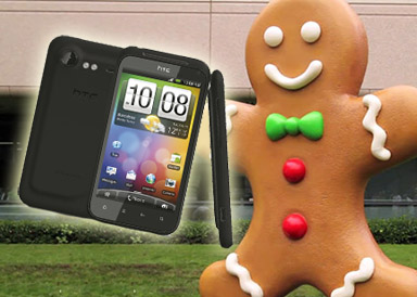 Android 2.3 Gingerbread HTC Incredible S ute nu!