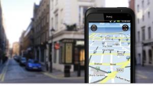 Karta i HTC Incredible S