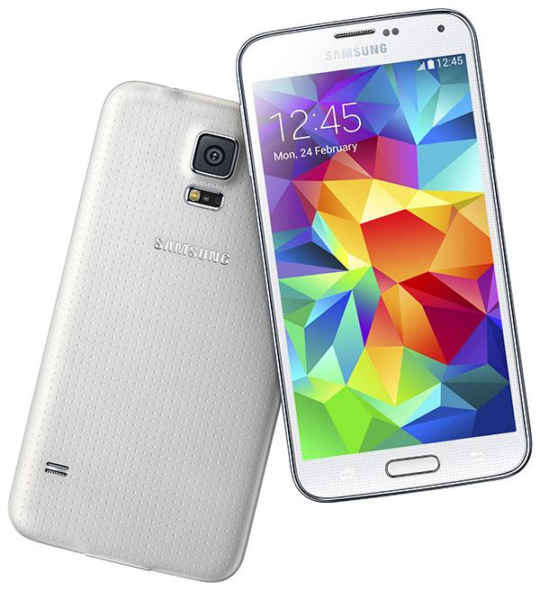 Samsung Galaxy S5 vit