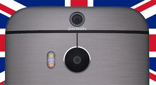 HTC One 2014/HTC M8 kommer att börja säljas samma dag som presentationen i Storbritannien