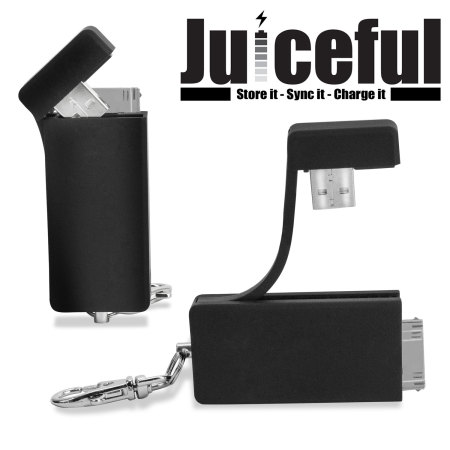 Juiceful 3-in-1 keychain för iPhone 4